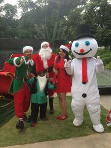JW Mariott's annual Christmas carnival